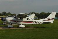 N3547T @ EGLD - 2001 Cessna T206H, c/n: T20608322 at Denham