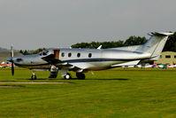 M-ERIL @ EGLD - 2010 Pilatus PC-12/47E, c/n: 1240 at Denham