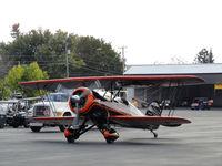 N4ZP @ VJI - Waco arriving at the 2011 Abingdon, Virginia Kiwanis Club Wings and Wheels Show. - by Davo87