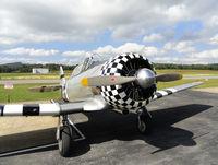 N90629 @ VJI - AT-6 Texan Paradise at the 2011 Abingdon, VA Kiwanis Club Wings and Wheels Show. - by Davo87