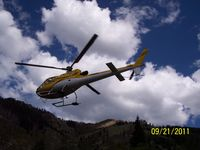 N7HE - Flight of National park trail workers coming home for the season to Mineral King Heliport. - by Robert Spurlock