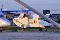 N264AG @ MKE - In a compound at Milwaukee Airport