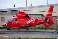 G-REDF @ EGNH - Bond Helicopters - by Chris Hall