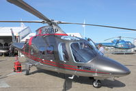 G-SGRP @ EGSU - Newly delivered Agusta AW109SP at 2011 Helitech at Duxford