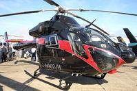 N902JW @ EGSU - At 2011 Helitech at Duxford