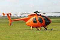 N500SY @ EGSU - At 2011 Helitech at Duxford
