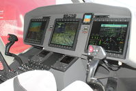 UNKNOWN @ EGSU - Flight panels of AW-169 Helicopter - Mock Up on display at 2011 Helitech at Duxford