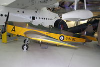 G-AFBS @ EGSU - Displayed in Hall 1 of Imperial War Museum , Duxford UK