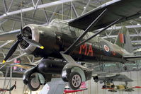 G-LIZY @ EGSU - Painted V9673 but really V9300  - Displayed in Hall 1 of Imperial War Museum , Duxford UK