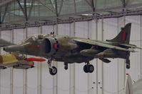 XZ133 @ EGSU - Displayed in Hall 1 of Imperial War Museum , Duxford UK