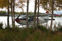 N842C @ LHD - At the Lake Spenard end of Lake Hood Seaplane base, Anchorage, AK - by BTBFlyboy