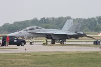 166458 @ DAY - F/A-18F - by Florida Metal