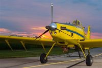 N4537X @ KPNT - N4537X at its home base in Pontiac, IL. - by Air Tractor