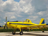 N802HA @ KPNT - N802HA at Pontiac Municipal Airport - by Kris Petersen