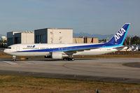 JA625A @ KPAE - KPAE/PAE Boeing 967 on a full length 34L arrival