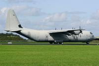 MM62190 @ EHLW - Italy F C-130J Hercules cargo aircraft just after landing at Leeuwarden AB. - by Nicpix Aviation Press/Erik op den Dries