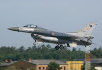 91-0003 @ ETNT - F-16C 91-0003 returning from a Brilliant Arrow 2011  mission at Wittmund AB, Germany. - by Nicpix Aviation Press/Erik op den Dries