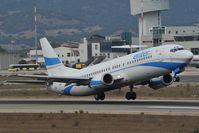 SP-ENC @ LIEO - Enter Air Boeing 737-400