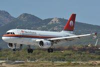 EI-DFA @ LIEO - Meridiana Airbus 319