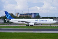 C-GCTS @ EGCC - Air Transat - by Chris Hall