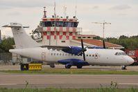 D-BCRO @ LIET - Meridiana ATR42 - by Dietmar Schreiber - VAP