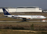 F-WWKH @ LFBO - C/n 1267 - Freshly painted in full Skyteam c/s for China Eastern Airlines :) - by Shunn311