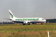 PH-HZE @ EHAM - Transavia ; Spcl cs - by Henk Geerlings