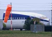 VP-BJW @ EGGW - former KD Avia Boeing 737 now used by Luton Airport fire service - by Chris Hall