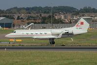 CN-ANU @ EGGW - Moroccan Govt Gulfstream III, c/n: 365 at Luton - by Terry Fletcher