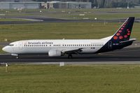 OO-VEP @ EBBR - decelerating after touchdown