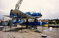 3073 - 1941 Vought OS2U-2 Kingfisher on the USS North Carolina (BB-55) at Wilmington, NC - by scotch-canadian