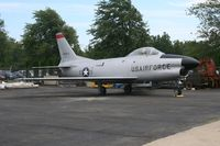 53-1060 @ YIP - F-86D Sabre - by Florida Metal