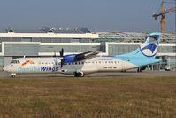OM-VRC @ LZIB - Danube Wings ATR72