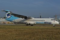 OM-VRA @ LZIB - Danube Wings ATR72