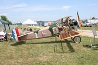 4523 @ YIP - Spad XIII partially built - by Florida Metal