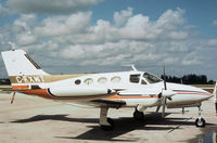 C-FXWT @ LNA - This Cessna 421 Golden Eagle was seen at Palm Beach County Park in November 1979. - by Peter Nicholson