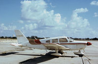 C-GGVE @ PBI - PA-28-181 Cherokee Archer II seen at Palm Beach in November 1979. - by Peter Nicholson