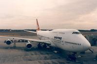VH-EBV @ NRT - Qantas - by Henk Geerlings