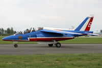 E122 @ LIPI - Patrouille de France - by Loetsch Andreas