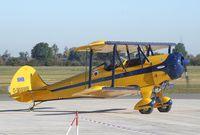 D-MWWB @ EDVE - Platzer Kiebitz-B at Braunschweig-Waggum airport
