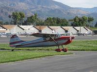 N8250A @ SZP - 1952 Cessna 170B, Continental C-145-2 145 Hp, taxi - by Doug Robertson
