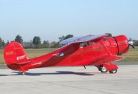 N69H @ EDVE - Beechcraft D17S Staggerwing at its home-base at Braunschweig-Waggum airport - by Ingo Warnecke