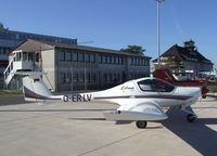 D-ERLV @ EDVE - Diamond DA-20-A1 Katana at Braunschweig-Waggum airport - by Ingo Warnecke