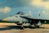164657 @ LMML - FA18 Hornet 164657/AJ US Navy - by raymond
