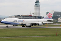 B-18705 @ LOWW - China Airlines - by Loetsch Andreas