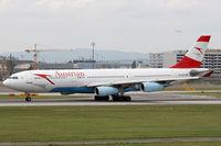 OE-LAH @ LOWW - Austrian Airlines - by Loetsch Andreas