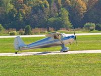 N1480B @ KSUS - Taxing to runway 8R - by John Heilmann