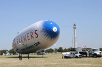 N704LZ @ AFW - Zeppelin NT Eureka at Alliance Airport - Fort Worth, TX