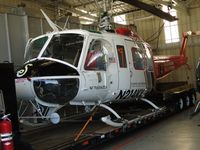 N214KK @ SEE - Parked in her hanger - by Helicopterfriend