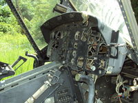 66-16462 - Here's the shot of the instrument panel.  It was really sad to see a bona fide Viet Nam combat veteran treated this way.  Ft. Leonard Wood - by Bookie